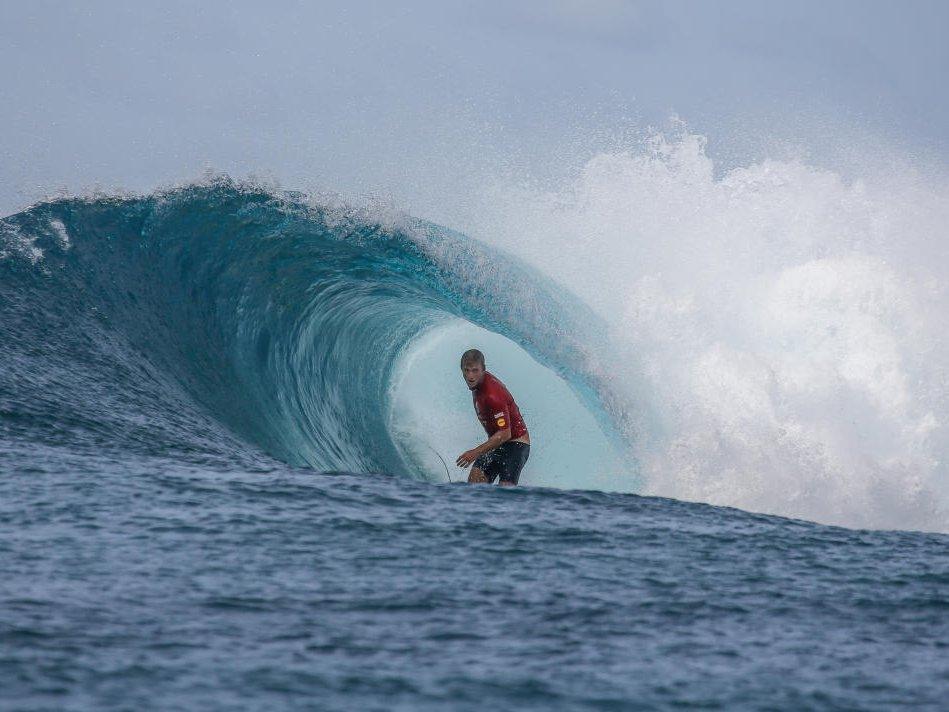 Josh Kerr. Foto: WSL / Mohamed Navi